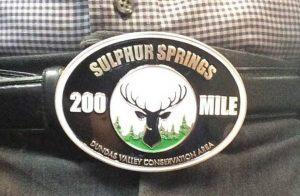 200 miler belt buckle