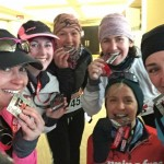 My girls and I with our Chilly medals