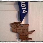 race/pace report – 2014 County Marathon