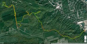 Snowshoe Raid GPS Track