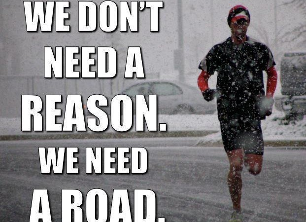 You must be nuts! … an insight into winter running