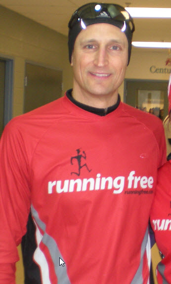 Team Running Free athlete
